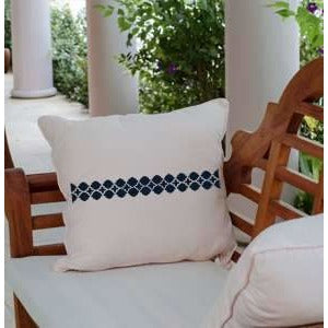 Modern Lattice Designer Series Stencil Pillow