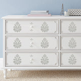 Furniture Stencils Brighton Damask Furniture Stencils