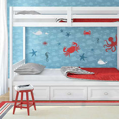 Little Explorers Sea Collection Wall Stencils