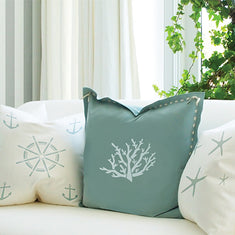 Coastal Living Pillow Stencils