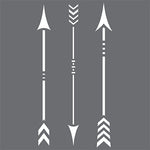 Native Arrows Stencil