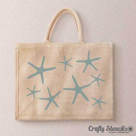 Starfish Craft Stencil