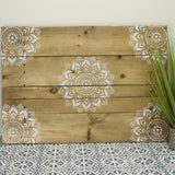Boho Medallion Accent Stencils Craft Stencils Furniture Stencils