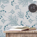 Woodland Botanical Farmhouse Stencil