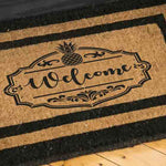 Welcome Pineapple Accent Stencils