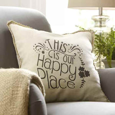 This is Our Happy Place Pillow