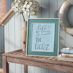 Life is Better at the Lake Nautical Stencils