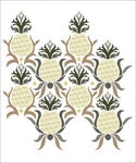 Pineapple Wall Painting Stencil Design