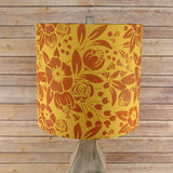 Watercolor Floral Lamp Shade Stencils