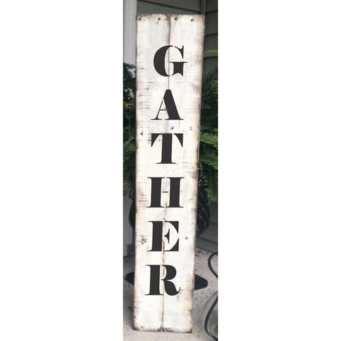 Gather Vertical Porch Stencil