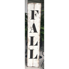 Fall Vertical Porch Stencil. Create your Porch sign today!