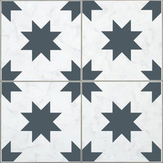 Large Farmhouse Tile Stencil