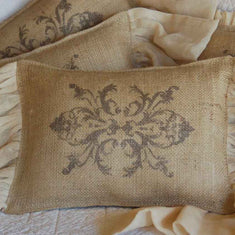 Victorian Baroque Pillow Stencils