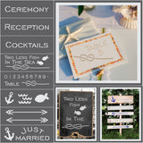 Nautical Wedding Stencils