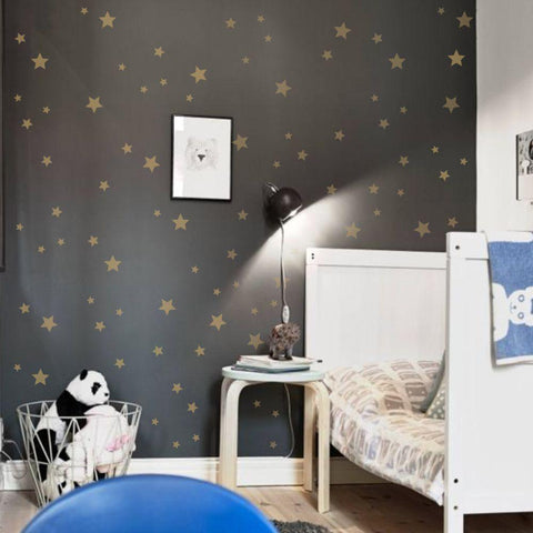 Starfield Wall Painting Stencil