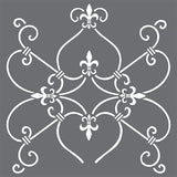 French Iron Wall Stencil