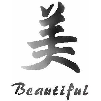 Beautiful Chinese Character Stencil