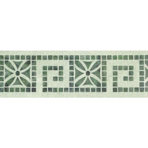 Deco Tiles Border Stencil - Oak Lane Studio