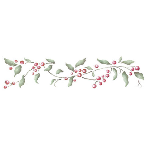 Great Winterberries Stencil