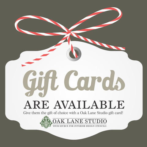 Gift Card for Oak Lane Studio