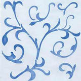 Scroll Wall Painting Stencil