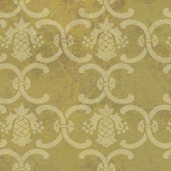 Pineapple Damask Wall Painting Stencil