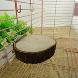 Round Wooden for Parrot, Birds, Hamster and Small Animals - World Pet - The Best Pet Store in US. Dog Cat Hamster Chinchila Parrot Parakeet Animals Pet Articles Supplies