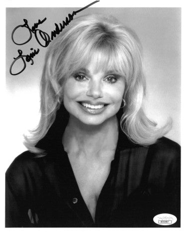 Loni Anderson Signed Inscribed Love 8x10 Photo WKRP (JSA DD32867)