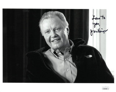 Jon Voight Signed Inscribed Love To You 8x10 Photo (JSA DD32858)