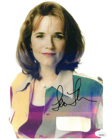 Lea Thompson Signed 8x10 Photo (JSA DD39231)