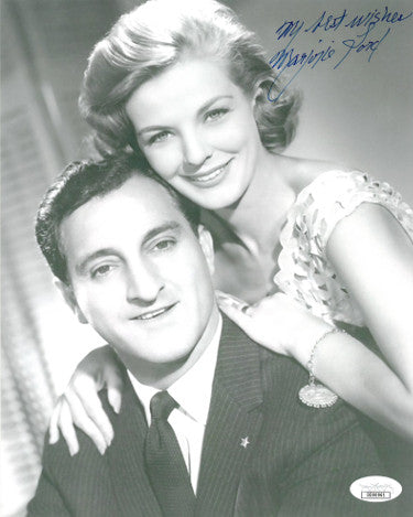 Marjorie Lord Signed Inscribed My Best Wishes Make Room for Daddy Vintage 8X10 Danny Thomas Show Photo (JSA DD90961)