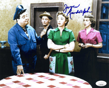 Joyce Randolph As Trixie Norton Signed Honeymooners Vintage Color 8x10 Photo (JSA EE62126)