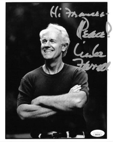 Mike Farrell As BJ Hunnicutt From MASH Signed Inscribed Hi Frances Peace 8x10 Photo (JSA DD64762)