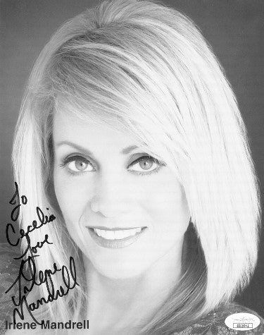 Irlene Mandrell Signed Inscribed Love To Cecelia 7.5x9.5 Photo (JSA EE62743)