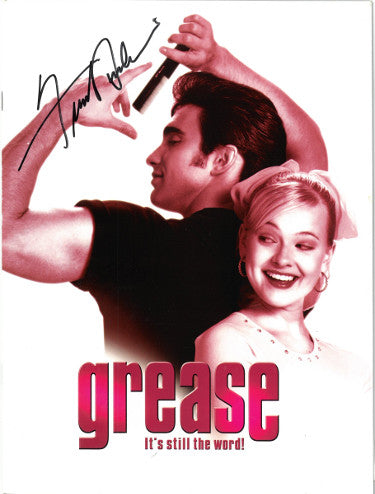 25-Signatures With Frankie Avalon Signed Grease Its Still The Word 9x12 Souvenir Program Teen Angel (JSA AA38226)