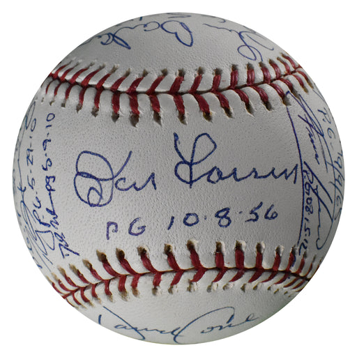 16 Signature Perfect Game Pitchers Signed with 16 Inscriptions MLB Baseball (Beckett A62474)