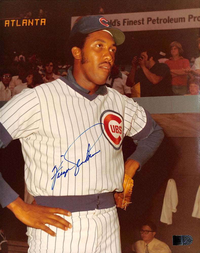 fergie jenkins signed 8x10 aiv aa17055 certificate of authenticity