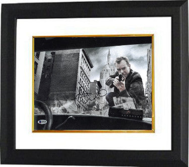 Kiefer Sutherland Signed Inscribed 24 Jack Bauer 11x14 Photo Custom Framed 2 (Beckett B57690)