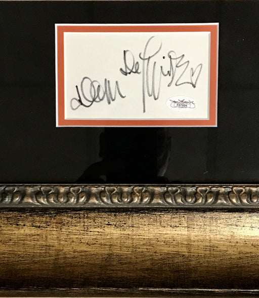 Dom Deluise Signed Framed Autograph Display as Captain Koas from The Cannonball Run (JSA F87884)