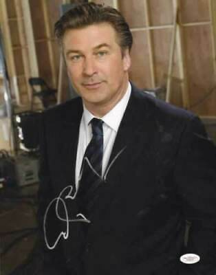 alec baldwin signed 11x14 as jack donaghy from 30 rock jsa g35478 certificate of authenticity