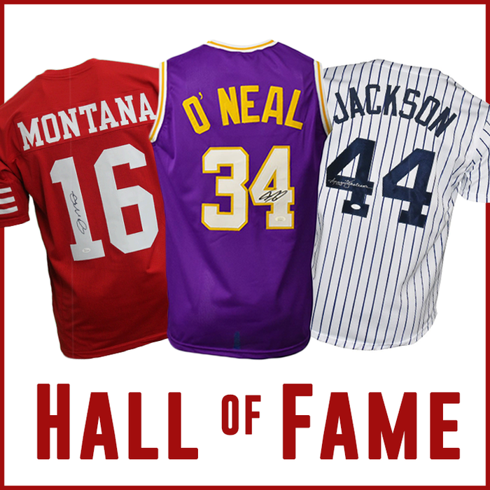 Hall of Famers Autographed Jersey Mystery Box – Every Sport!