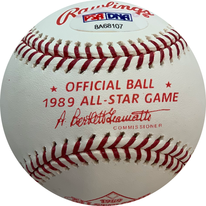 Kevin Mitchell Autographed Rawlings 1989 All Star Game Official Major League Baseball (PSA) w/ MVP Inscription