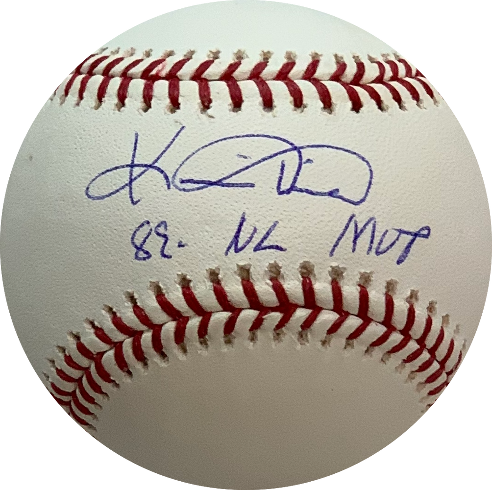 Kevin Mitchell Autographed Official Major League Baseball w/ MVP Inscription (PSA)