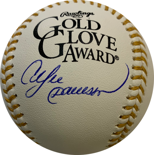 Andre Dawson Autographed Rawlings Gold Glove Official Baseball (JSA)