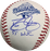 David Justice Autographed Rawlings Braves 1995 World Series Baseball Official Baseball (PSA) w/ W.S. Champs Inscription