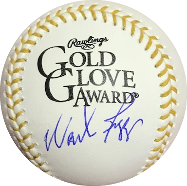 Wade Boggs Autographed Rawlings Official Major League Gold Glove Edition Baseball JSA