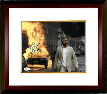 George Clooney Signed Syriana 8x10 Photo Custom Framed 3 (JSA T40864)