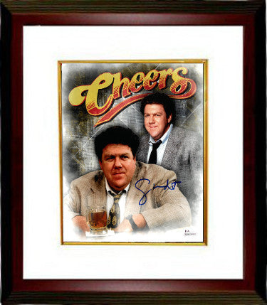 George Wendt As Norm Peterson Signed Cheers 8x10 Photo Custom Framed 4 (JSA Witness)