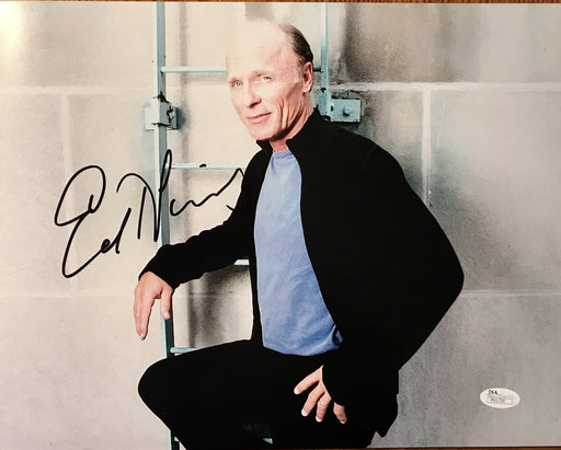 ed harris signed 11x14 as the man in black from westworld jsa p01720 certificate of authenticity