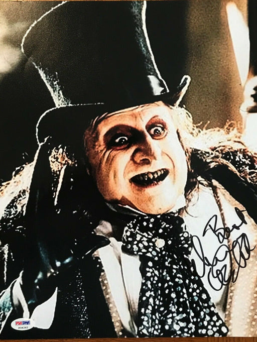 danny devito signed 11x14 as the penguin from batman returns psa p34262 certificate of authenticity
